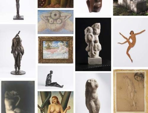 Ženský akt vJarní aukci Arthouse Hejtmánek