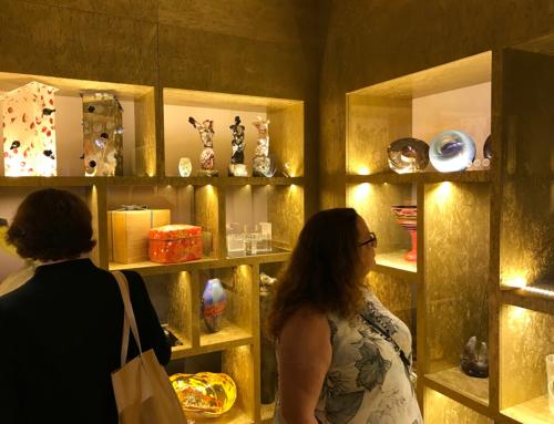Galerie Portheimka otvírá muzeum skla