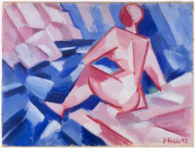 Václav Špála Koupání 1915 Arthouse Hejtmanek aukce