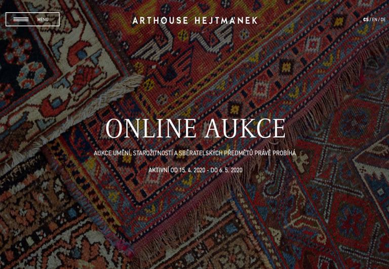 Jak přihazovat v naší online aukci?