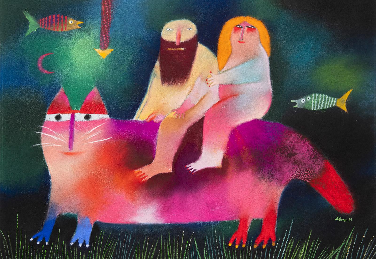 Cestou-Z-Raje-Adolf-Born-Zahradni-aukce-2020-Arthouse-Hejtmanek