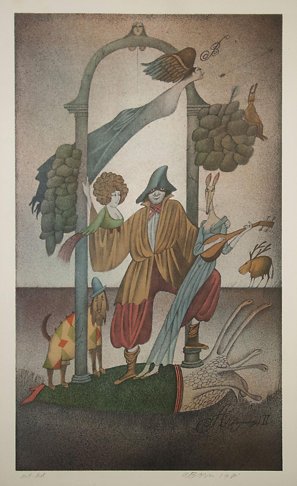 Adolf_Born_litografie_Online_Aukce_Arthouse_Hejtmánek